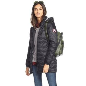 Canada goose Women's Camp Slim Fit Hooded Packable